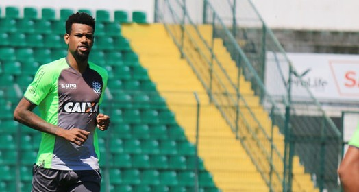 sempre bem-vindo (Luiz Henrique/Figueirense FC)