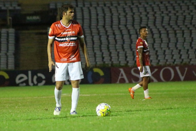 Júnior Xuxa - River-PI x Botafogo-PB (Foto: Wenner Tito)