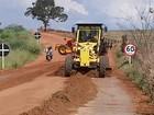 Estradas rurais de Uberlândia passam por manutenção