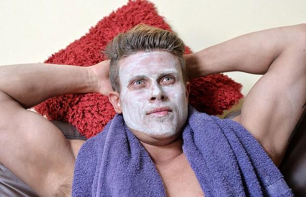 Matt Dunford - não basta ser bonito, tem que manter a beleza (Foto: Ben Stevens/Barcrott Media/Reprodução Daily Mail)