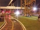 Motorista morre após se envolver em acidente e bater o carro em Santos