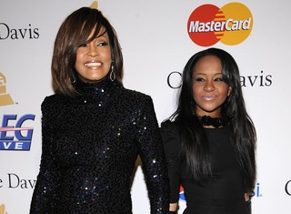 Whitney Houston e Bobbi Kristina (Foto: Agência Reuters)