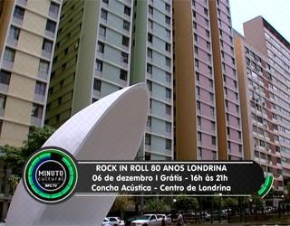 Minuto Cultural Londrina - Rock in Roll Londrina 80 anos (Foto: Reprodução/RPC TV)