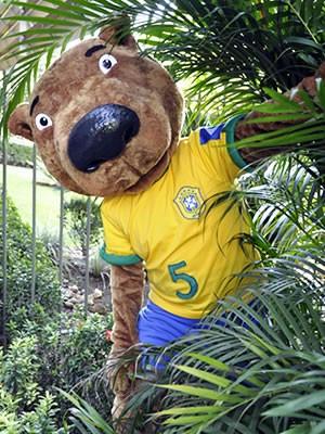 Capivara é o primeiro jogador de seleção que vai apresentar Pantanal ao mundo (Foto: Dhiego Maia/GLOBOESPORTE.COM)