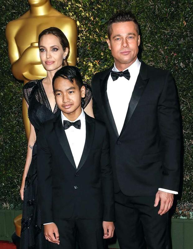 Angelina Jolie e Brad Pitt (Foto: Angelina Jolie e Brad Pitt)