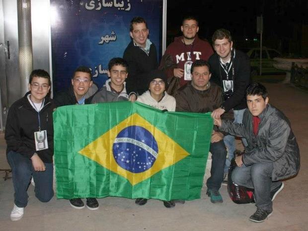 Brasileiros tiveram melhor desempenho em competição internacional (Foto: Arquivo pessoal)