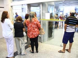 Bancos terão que pagar indenização quando Lei das Filas não forr respeitada (Foto: Rizemberg Felipe/Jornal da Paraíba)
