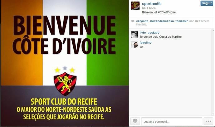 Costa do Marfim - Sport (Foto: Reprodução/Internet)
