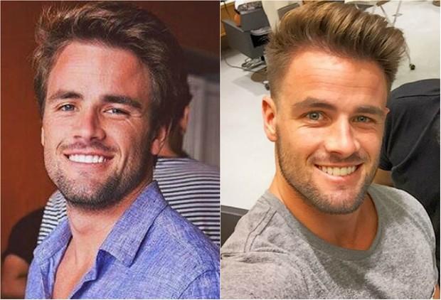 Ex-BBB Rafael Licks muda o visual: compare o antes e depois (Foto: Reprodução / Instagram)