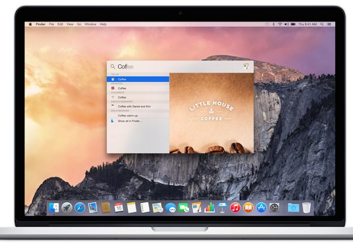 Veja como configurar a Spotlight do Mac OS X Yosemite no TechTudo (Foto: Divulgação/Apple)