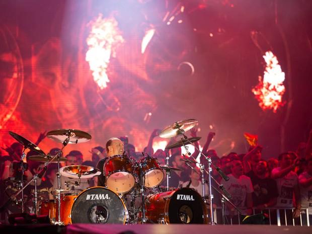 19/09 - MUNDO - Metallica (Foto: Andr Bittencourt)