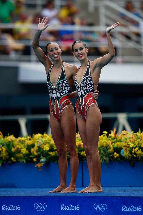 Ona Carbonell e Gemma Mengual da Espanha (Foto: Getty Images/Adam Pretty)