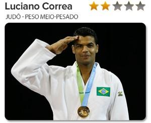 Peso do Ouro Luciano Correa - Judô - Peso meio-pesado (Foto: GloboEsporte.com)