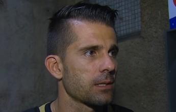 """Victor diz que calcanhar foi """"arriscada consciente"""", após bola ficar presa"""
