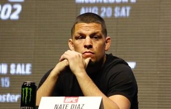 """""""Aceito o fato de que há uma chance de ser nocauteado"""", diz Nate Diaz"""