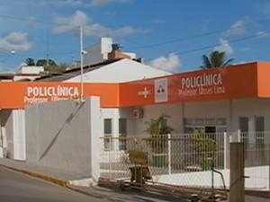 Policlínica Professor Ulisses Lima, em Belo Jardim, Pernambuco (Foto: Reprodução/ TV Asa Branca)