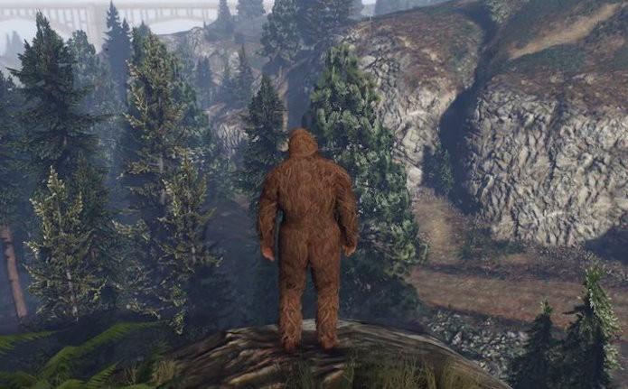 GTA 5: Usuários descobriram como destravar o Pé-Grande em GTA 5 (Foto: Reprodução/GamesRadar)