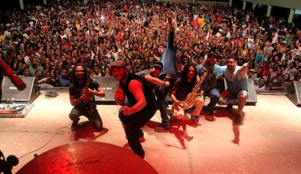 Banda Vibrações no Festival Reggae Brazuca em Recife (Foto: Divulgação / Banda Vibrações )