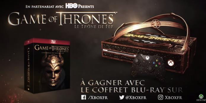 Xbox One com tema de Game of Thrones é produzido pela Microsoft (Foto: Reprodução/YouTube)