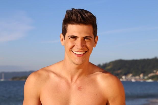 Carlos Franco, Mister Brasil 2016 (Foto: Aliram Campos/divulgação)