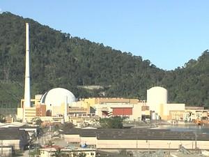 Usina nuclear Angra 1 (Foto: Reprodução/TV Rio Sul)