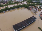 Chuva faz sete cidades decretarem emergência em Santa Catarina