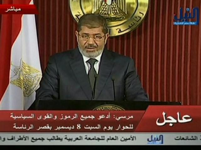 Mohammed Mursi (Foto: Reprodução Globo News)