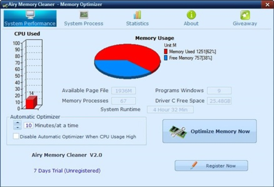 Airy Memory Cleaner Download Techtudo