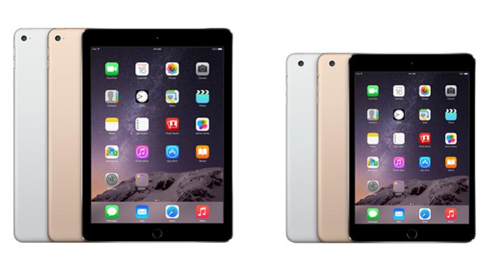 Tablets são praticamente iguais, com diferença só no tamanho (Foto: Divulgação)