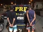 Sem PM nas ruas, PRF recupera veículos e prende suspeitos no ES