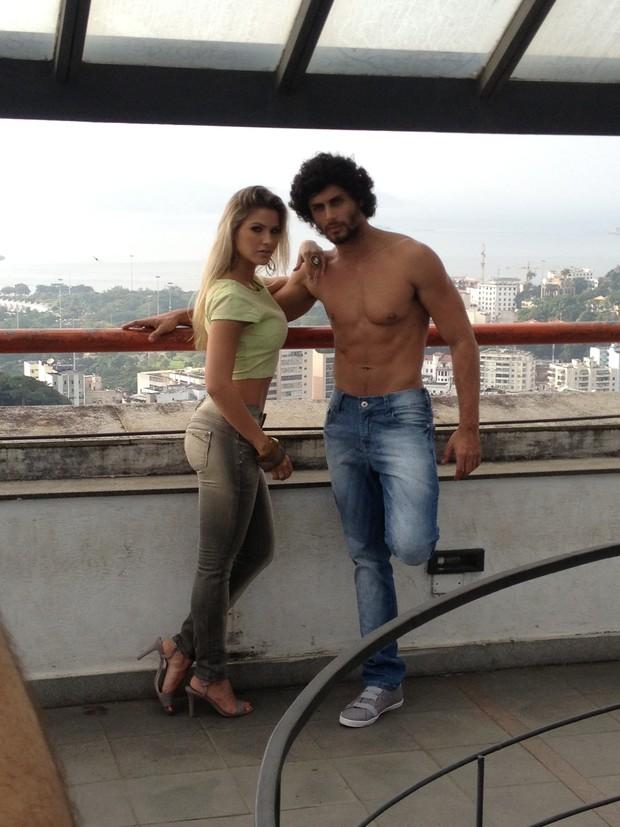 Jesus Luz e Andressa Suita  (Foto: Divulgação / Paulo Falcão)