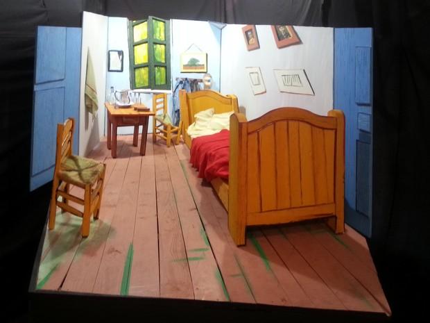 Exposição Van Gogh Juiz de Fora 1 (Foto: Nathalie Guimarães/ G1)