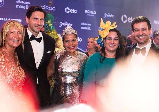 O time da Vogue reunido para a festa (Foto: Ale Virgílio, Lu Prezia e Ricardo Toscani)