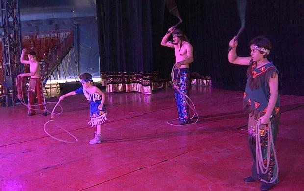 Programa foi gravado em um circo de Manaus (Foto: Amazônia em Revista)