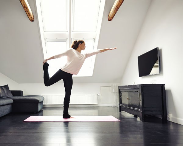 Exercite-se em casa (Foto: Think Stock)