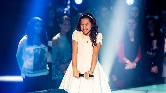 Bia Torres lembra sua experiência no The Voice Kids 2016