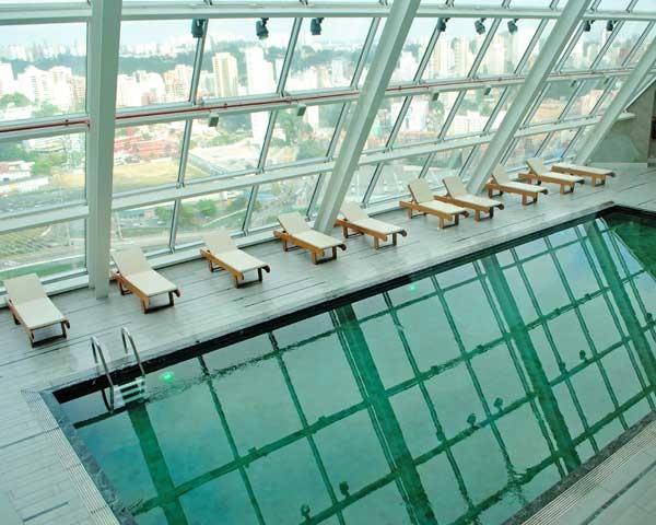 A nova piscina do Hilton (Foto: Divulgação)