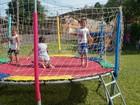 Projeto 'agita' a manhã de crianças e familiares no Parque Primavera