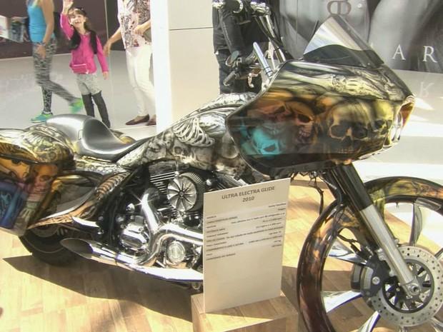 G1 - Exposição reúne motos de todas as épocas em shopping de ... e542b76816b