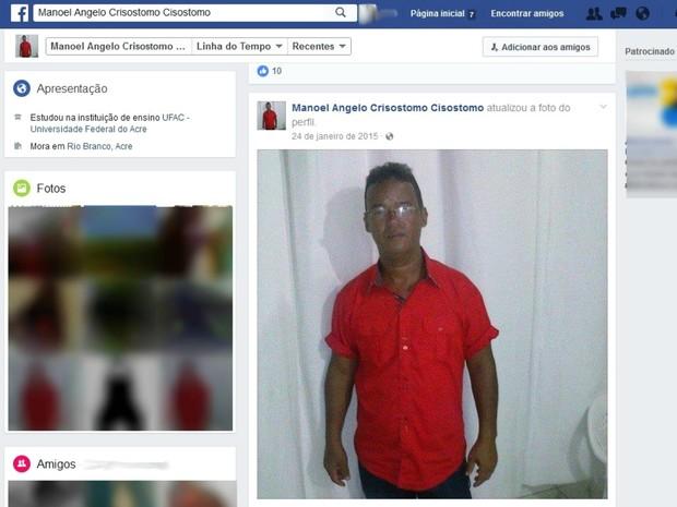 Homem morreu após receber descarga elétrica enquanto cortava fio de alta tensão, diz polícia (Foto: Reprodução/Facebook)