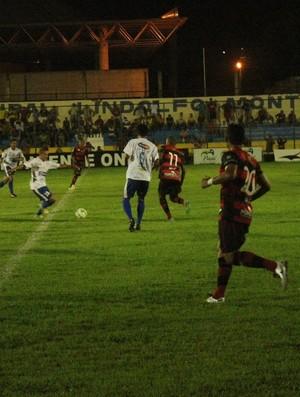 Parnahyba x Flamengo-PI pela quinta rodada do Piauiense (Foto: Wenner Tito)