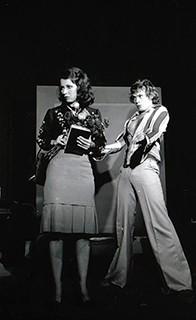 Com Neila Tavares em 'Anti Nelson-Rodrigues' (Foto: Arquivo)