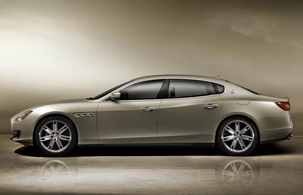 Maserati Quattroporte (Foto: Divulgação)
