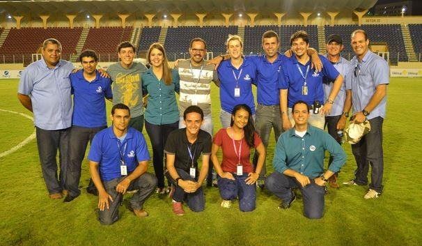 TV Sergipe escalou um time de craques de todas as áreas para as transmissões (Foto: Divulgação/TV Sergipe)