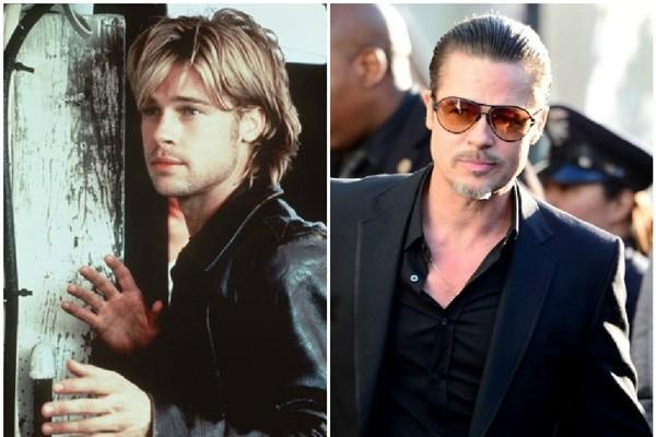 Brad Pitt parece mais maduro (Foto: Divulgação/Getty Images)