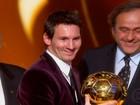 Messi é o melhor do mundo e gol de Neymar é eleito o mais bonito de 2011