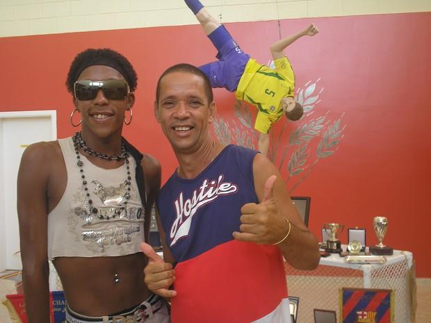 Lacraia e MC Serginho (Foto: Arquivo pessoal)