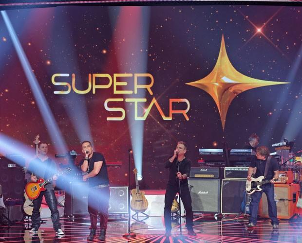 Banda conquista os três jurados do SuperStar (Foto: Isabella Pinheiro/ Gshow)