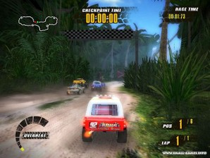 jungle racers gameplay