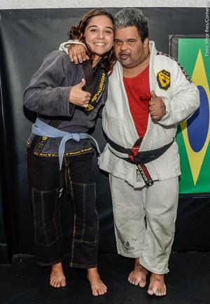 Alexandre Mucunda Bárbara MMA Down (Foto: Vitor Reis/CornerBR)
